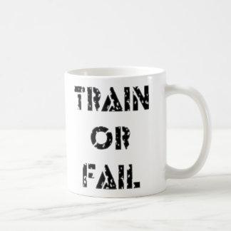 Bilden Sie aus oder versagen Sie Kaffeetasse