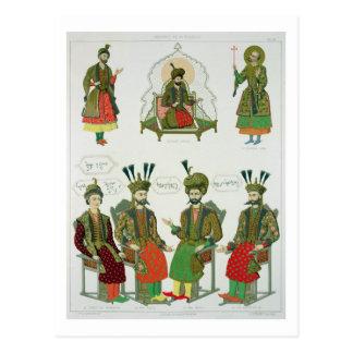 Bilder vom georgischen Goudiar, überziehen 45 von Postkarte