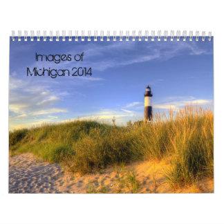Bilder von Kalender Michigans 2014