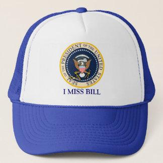 Bill Clinton-Hut: I Fräulein Bill: Truckerkappe