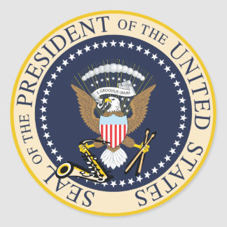 Bill Clinton: Präsident Seal Sticker