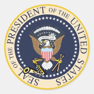 Bill Clinton: Präsident Seal Sticker