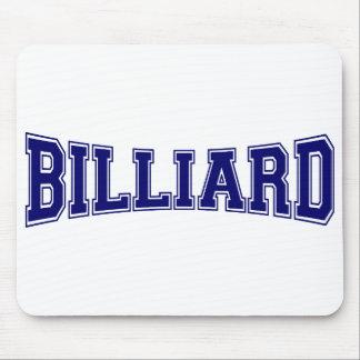 Billard-Hochschulart Mauspads