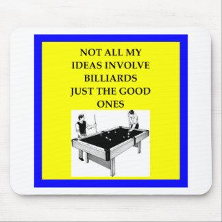 Billard Mauspads