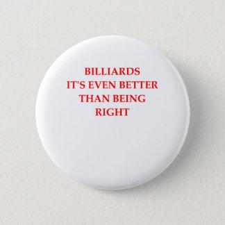 BILLARD RUNDER BUTTON 5,7 CM