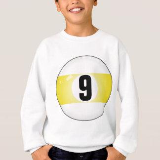 Billardkugel der Nr.-neun Sweatshirt
