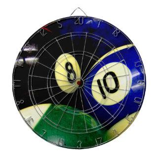 Billardtisch-Ball-Schmutz-Art Dartscheibe