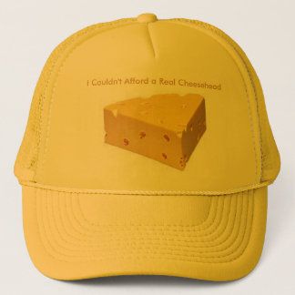 Billiger Cheesehead Hut Truckerkappe