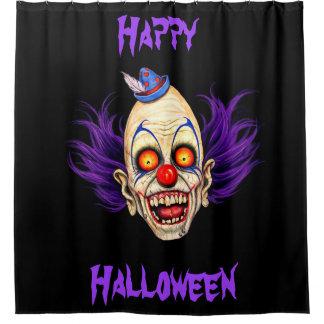 Bimbe der beängstigende Clown (glückliches Duschvorhang