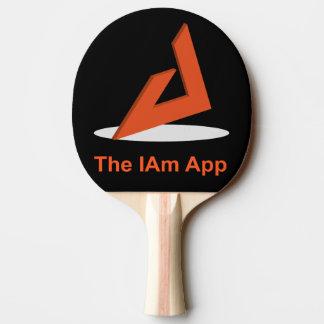 Bin ich Klingeln Pong Paddel Tischtennis Schläger