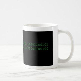 Binärer Nerd Kaffeetasse