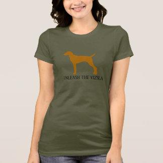 BINDEN Sie DAS VIZSLA los (Armee) T-Shirt