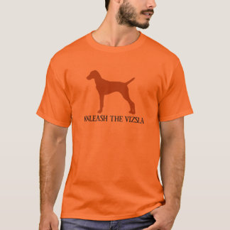 BINDEN Sie DAS VIZSLA los (orange) T-Shirt