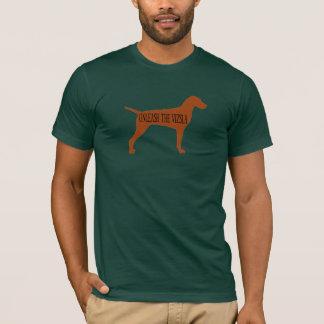 BINDEN Sie DAS VIZSLA los (Wald) T-Shirt