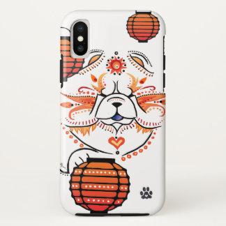 BINDI MI TANG Chow-Chow - IPHONE X Fall iPhone X Hülle