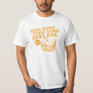 Bing Bong Binki Binki Baklava lustiges Fernsehen T-Shirt