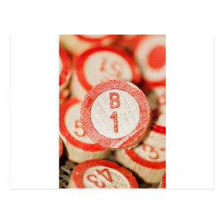 Bingo B1 Postkarten