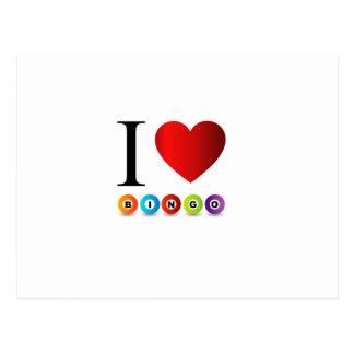 Bingo der Liebe I Postkarte