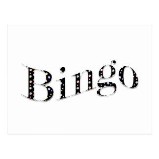 Bingo ist Ihr Spiel! Postkarten