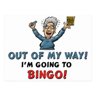 Bingo-Liebhaber Postkarten