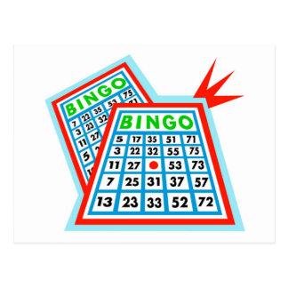 Bingo Postkarte