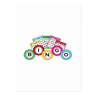 Bingo Postkarten