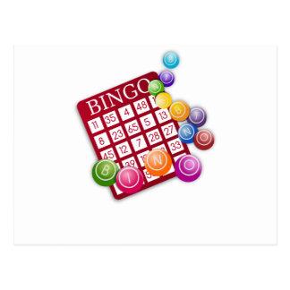 Bingo-Spiel Postkarten