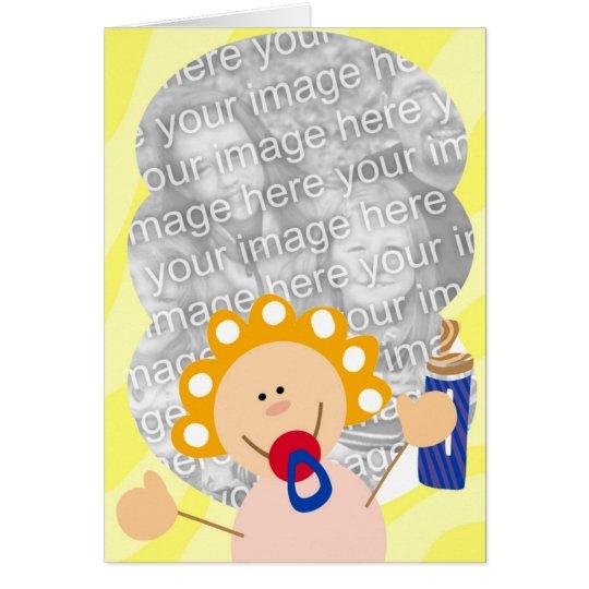 Binky Baby-Karten Grußkarte