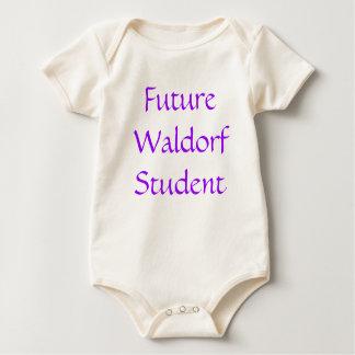 Bio Baumwollezukünftiger Waldorf Student Baby Strampler