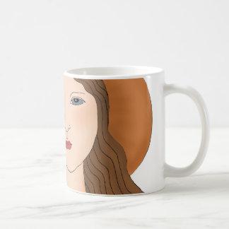 Bio Frauen-Bauer oder Gärtner Kaffeetasse