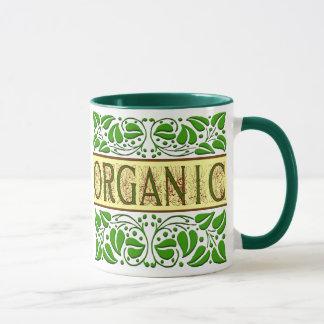 Bio grüne Slogan-Kaffee-Tasse Tasse