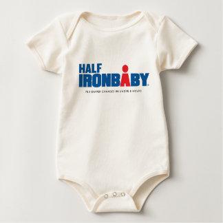 Bio halber Eisen-Baby-Bodysuit Baby Strampler