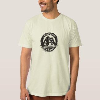 Bio tourguide Schwarz-Briefmarken-T-Stück T-Shirt