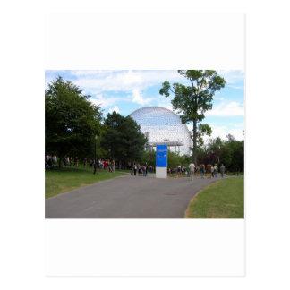 Biodome Montreal Postkarte
