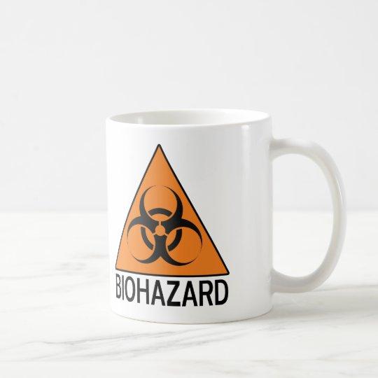 Biogefährdungzeichen Tasse