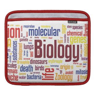 Biologie Wordle iPad Hülse iPad Sleeves