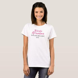Bionic Großmuttergesamtknieersatz-T - Shirt