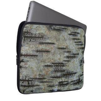 Birch bark laptopschutzhülle