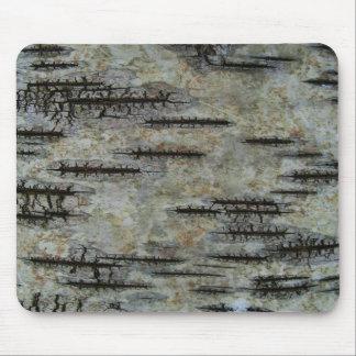 Birch bark mousepad
