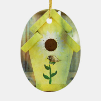 Birdhouse durch Shirley Taylor Keramik Ornament