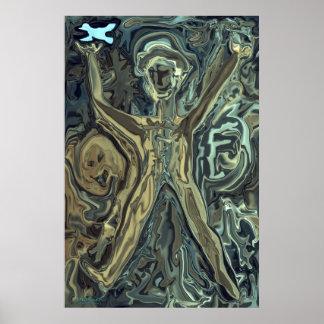 Birdman und die Hexe Poster