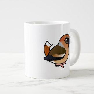 Birdorable Hawfinch Jumbo-Tasse