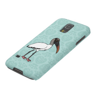 Birdorable hölzerner Storch Samsung Galaxy S5 Cover