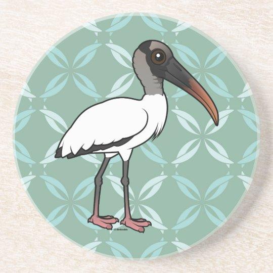 Birdorable hölzerner Storch Untersatz