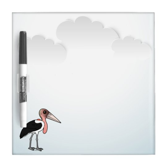 Birdorable Marabu-Storch Trockenlöschtafel