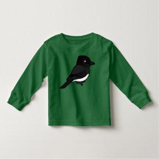 Birdorable schwarzer Phoebe Kleinkind T-shirt