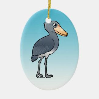 Birdorable Shoebill Ovales Keramik Ornament