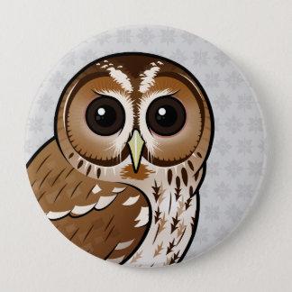 Birdorable Tawny Eule Runder Button 10,2 Cm