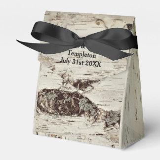 Birken-Holz-Hochzeits-Geschenkboxen Geschenkschachtel