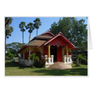 Birmanischer Tempel Karte